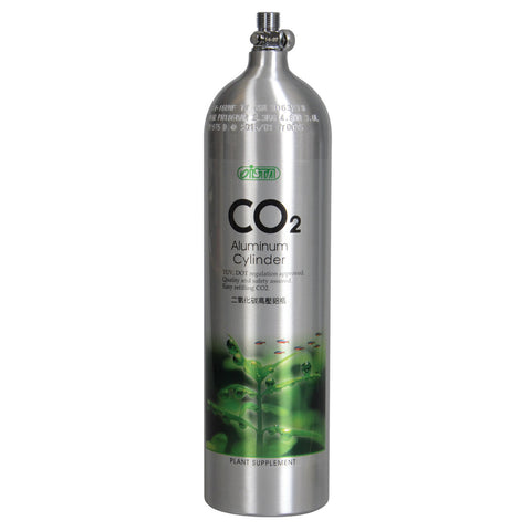 CO2 Aluminum Cylinder - 3L - Face Up