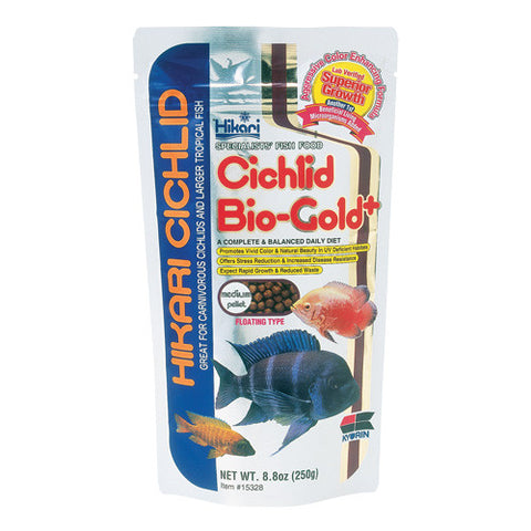 Cichlid Biogold+ - Mini Pellets - 2 oz