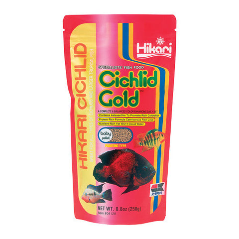 Cichlid Gold - Baby Pellets - 8,8 oz