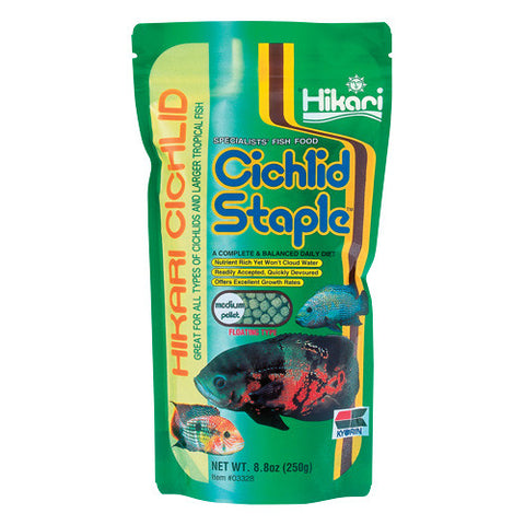Cichlid Staple - Medium Pellets - 8,8 oz