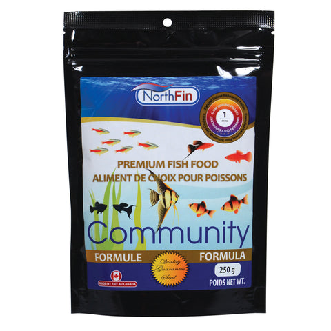 Community Formula - 1 mm Sinking Pellets - 250 g