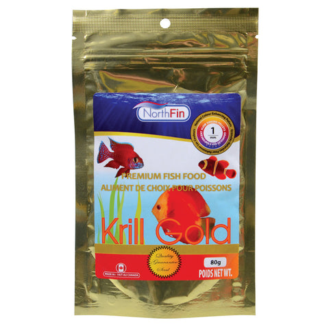 Krill Gold - 1 mm Sinking Pellets - 80 g