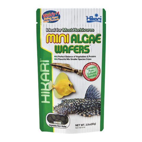 Mini Algae Wafers - 3 oz