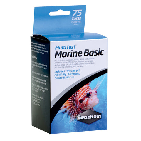 Multitest Marine Basic Kit 75 tests