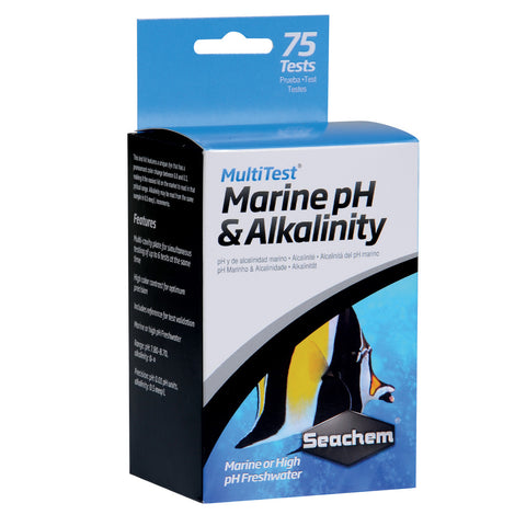 Multitest pH-KH Marine 75 tests