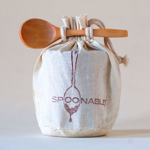 1lb Caramel Sauce Gift Bag w/ Spoon