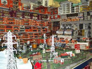 We sell lots of train accessories. Come by or call the store for more info!