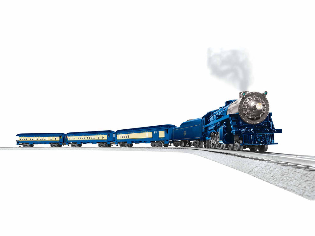 Seashore's Finest Train - The Blue Comet LionChief Set with Bluetooth