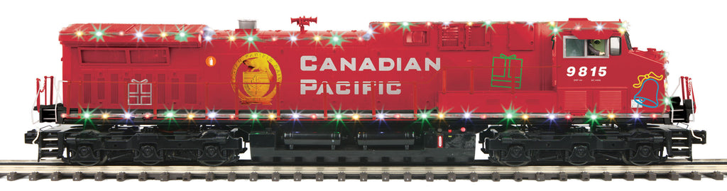 Ho Christmas Train.Canadian Pacific Holiday Train