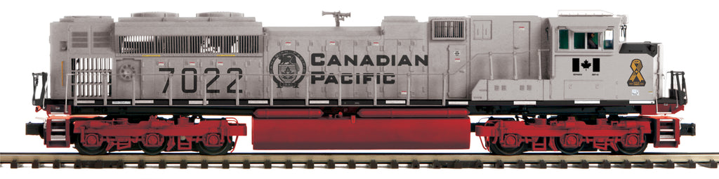 Canadian Pacific (Military - Gray) O Scale Premier SD70ACe Diesel Engine