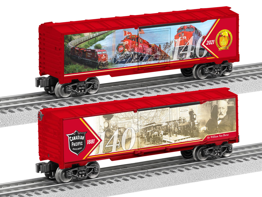 Canadian Pacific 140th Anniversary Boxcar