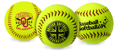 Personalized Softballs