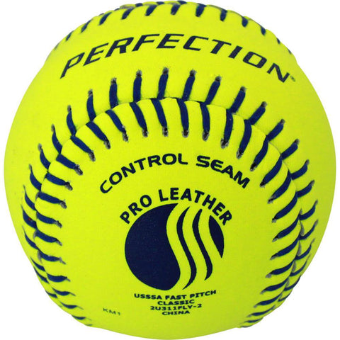 USSSA® Approved Leather Fastpitch Softball