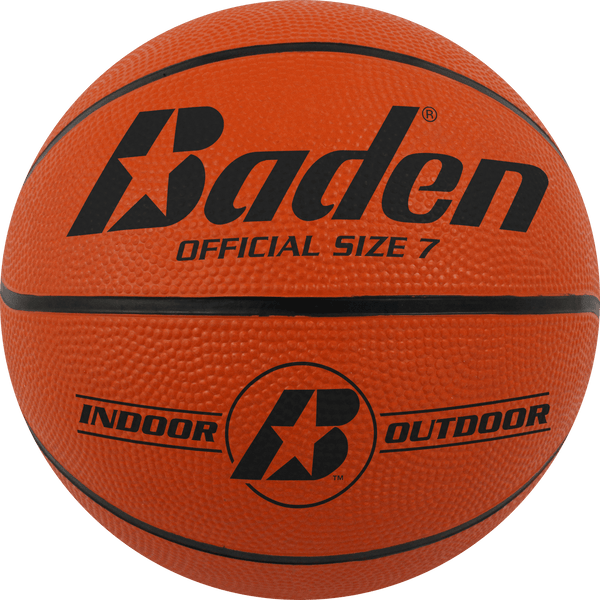 Rubber Basketball (more colors available) - Baden Sports