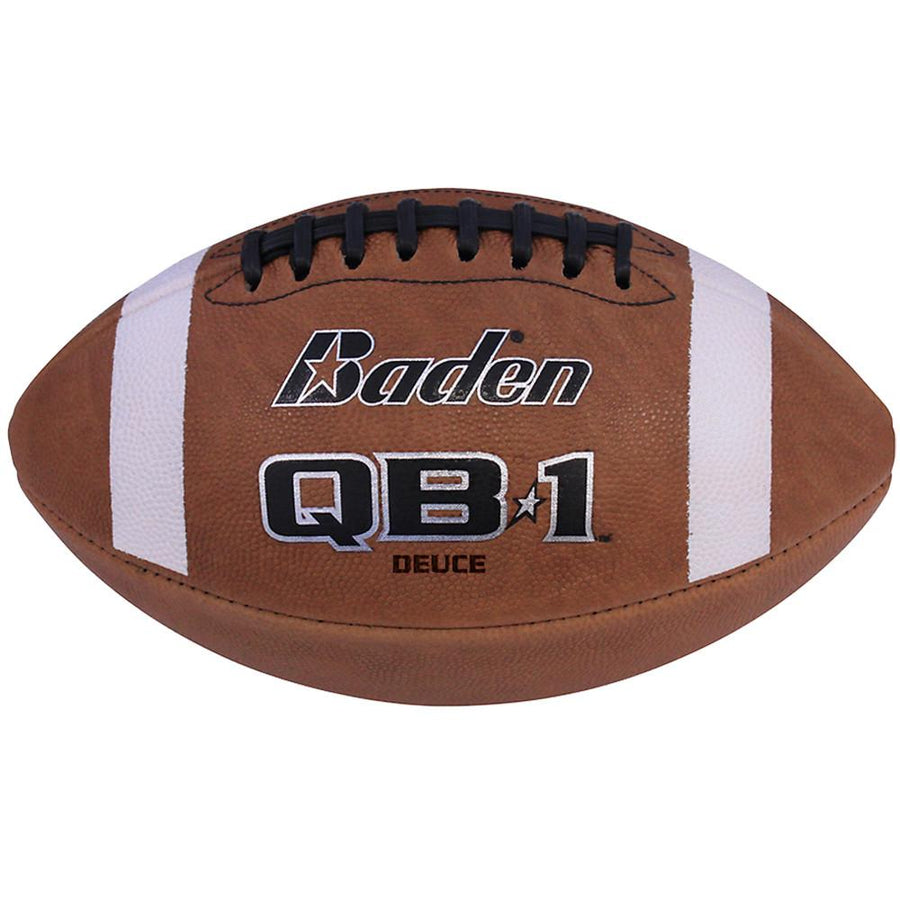 QB1 Deuce Leather Game Football