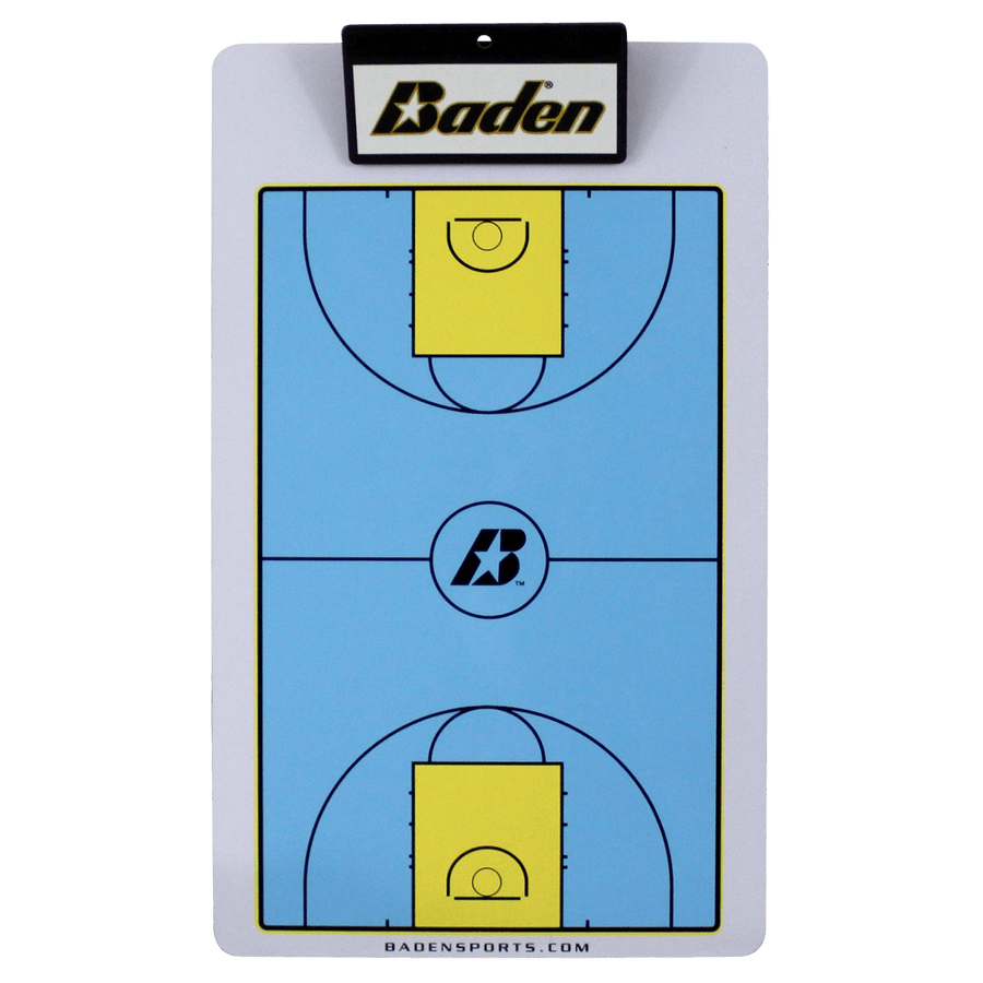 Basketball dry erase game board
