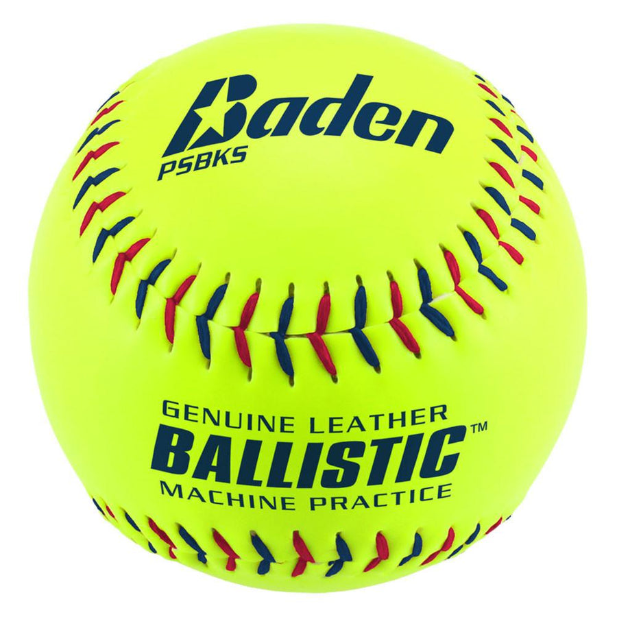 Ballistic Pitching Machine Softballs