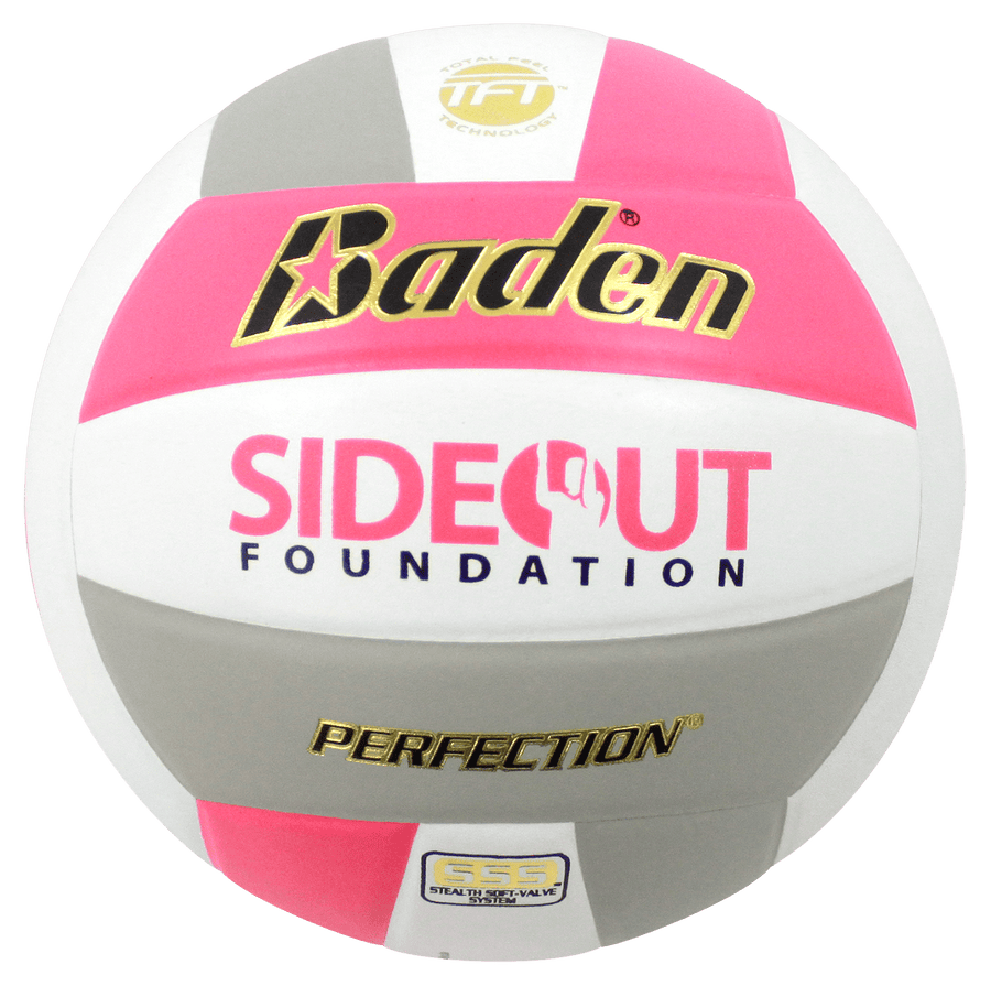 Perfection Dig Pink Leather Volleyball