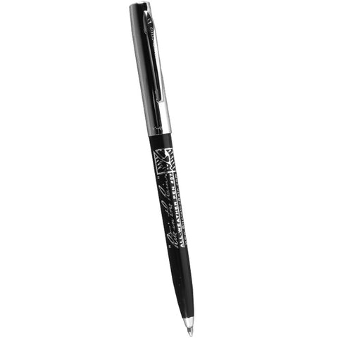 Rite in the Rain All Weather Pen - Clicker - Plastic Chrome - Black Ink
