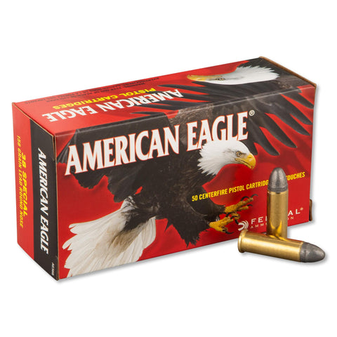 Federal American Eagle .38 Special 158gr Lead Round Nose 50 Bx
