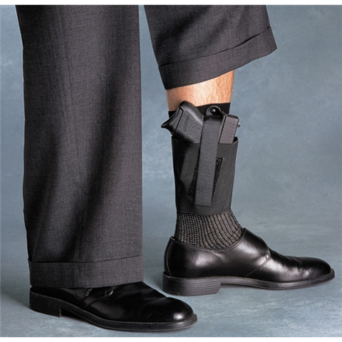 Galco Cop Ankle Band, Multi Fit, Gun Option