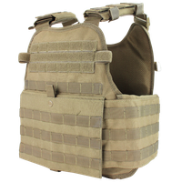 Condor Mod Gear Operator Plate Carrier Tan