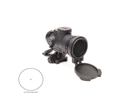 Trijicon 1x25 MRO Patrol 2.0 MOA ADJ Red Dot - 1/3 Co Whitness QD Mount