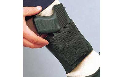 DeSantis Gunhide, Apache Ankle Holster, Fits Glock 26/27/29/30/43X, Right Hand