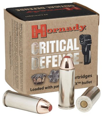 HORNADY CRITICAL DEFENSE 38 SPEC 110GR