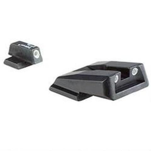 Trijicon Night Sight Set S&W M&P Shield Three Dot Tritium Green Green Front and Rear Lamps SA39-C-600714