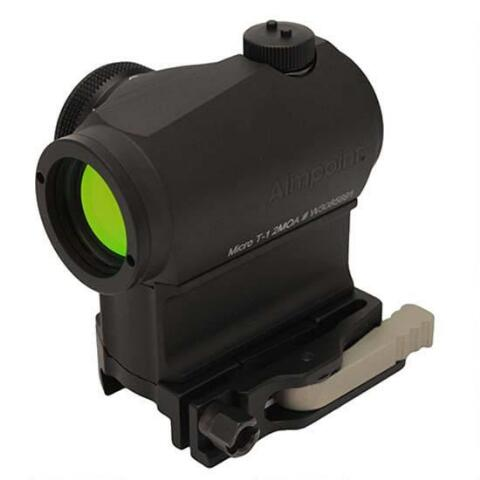 Aimpoint Micro T-1 (AR15 ready -2 MOA, LRP mount/39mm spacer)