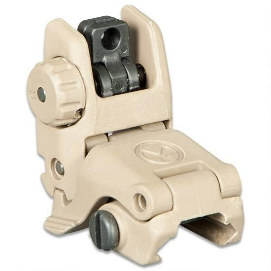 Magpul MBUS® Sight – Rear - FDE