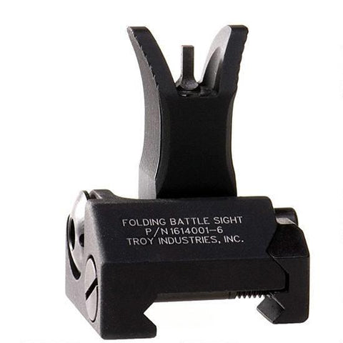 Troy Industries M4 Front Folding Battle Sight Black