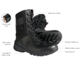 "First Tactical Men's 8"" Side-Zip Duty Boot"