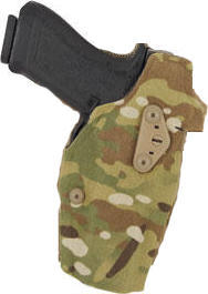 Safariland 6354DO ALS Optic Tactical Holster Multicam - Glock 17, Tac Light w/QLS 19 Fork