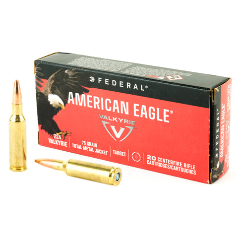 Federal American Eagle 224 Valkyrie 75 Grain 20 Rounds