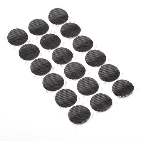 18 VELCRO® brand hook disks for combat helmet pad installation.