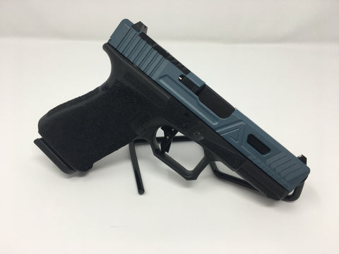 Agency Arms G19 Urban Combat w/Titanium Blue Slide