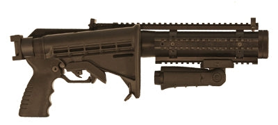 Penn Arms 40mm Single Launcher - Folding Stock, Quad Rail