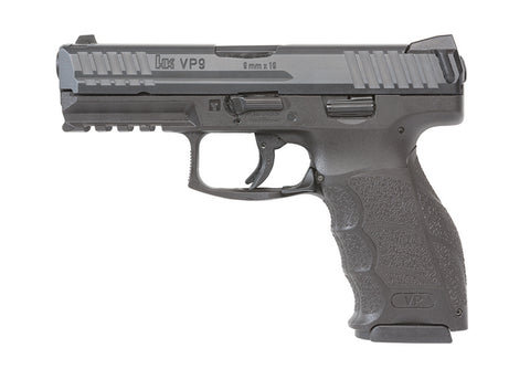 HK VP9 9mm - Blk, 2 Mags