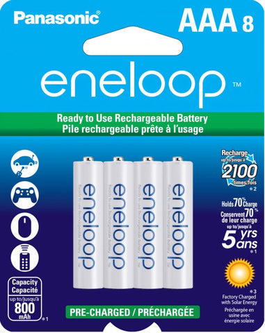 Eneloop AAA Eight Pack