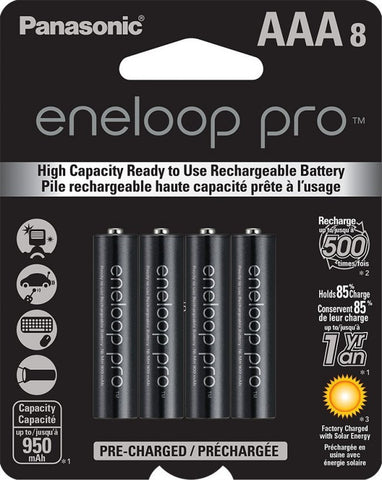 Eneloop Pro AAA Eight Pack