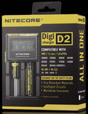 Nitecore D2 digicharger boxed