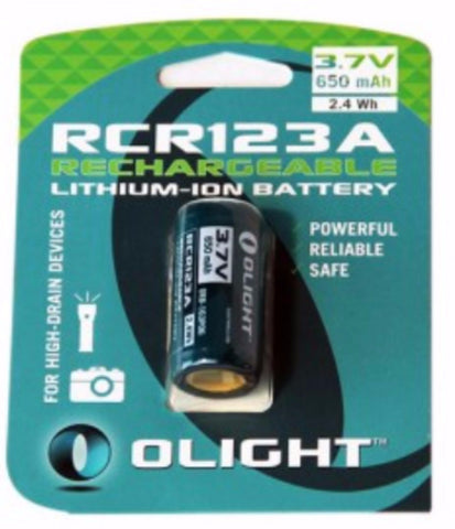 Olight 16340 battery card