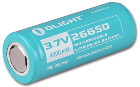 Olight 26650 4000mAh battery