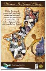 Women in Guam History Poster