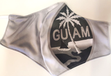 Silver Guam Seal Face Mask
