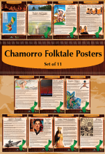Chamorro Folktales Poster Set of 11