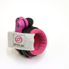 Earbud and Headphone holder. The best earbud cord wrap.