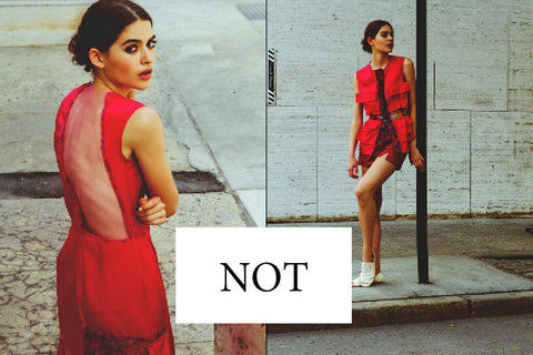 Rent NOT's Designer Clothing on Closet Collective